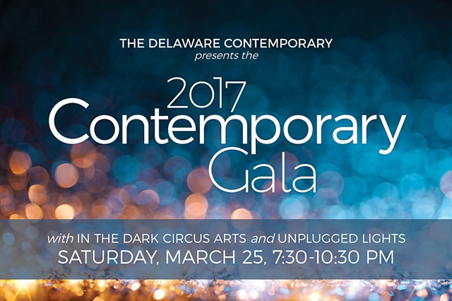 Two of my photographs are included the Delaware Contemporary's Contemporary Gala