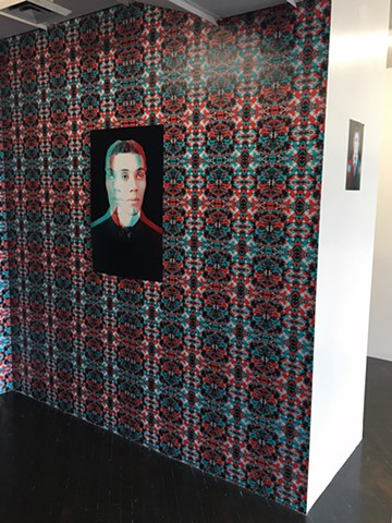 Through the Layers, Pt. 1 Installation Shot