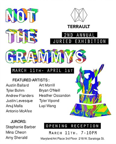 3D photograhs included in Terrault Contemporary's 2nd Annual Juried Exhibition