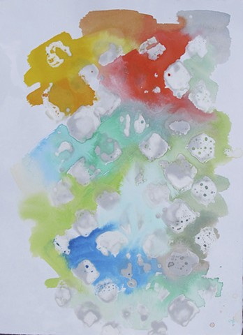 untitled (color wax)