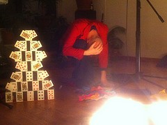 Magician Project - with Card Tower 2