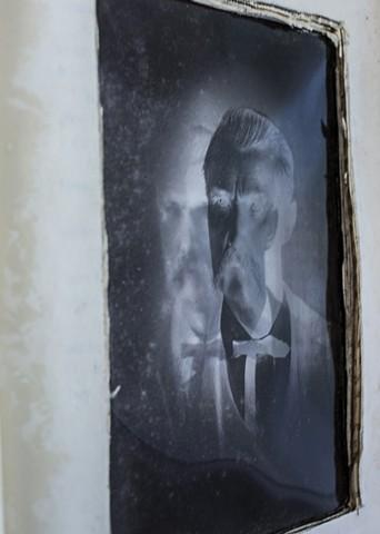 Ghost Portrait # 2 detail shot