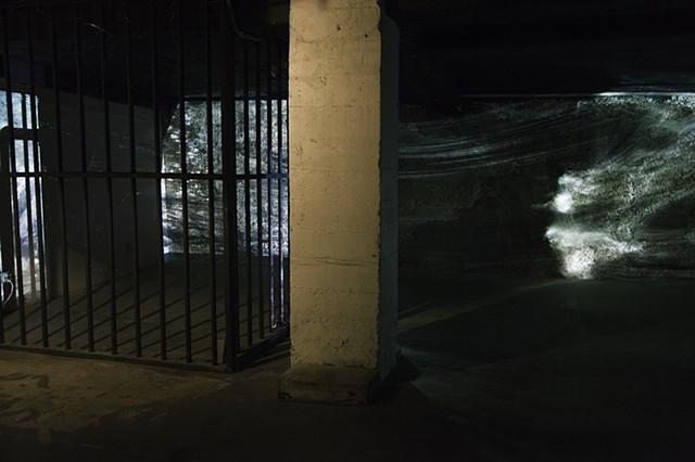 Jail Cell Residency, San Francisco, Aegean Sea, Dimitra Skandali, installation, sound installation, summer, cicadas, Greek islands