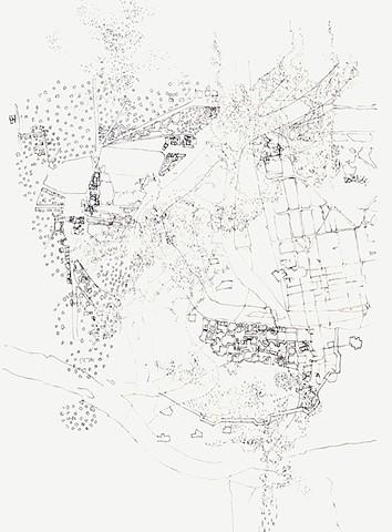 Untitled II, 2017 (study for Al Mogran II)