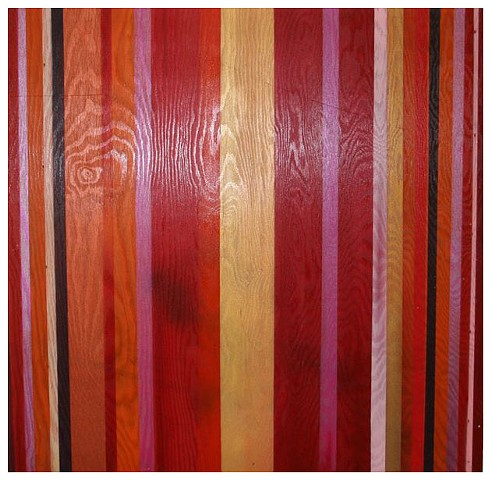Stripes on Wood