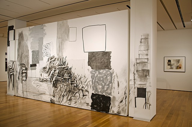 wall drawing, High Museum of Art