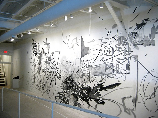Wall Drawing, Museum of Contemporary Art of Georgia