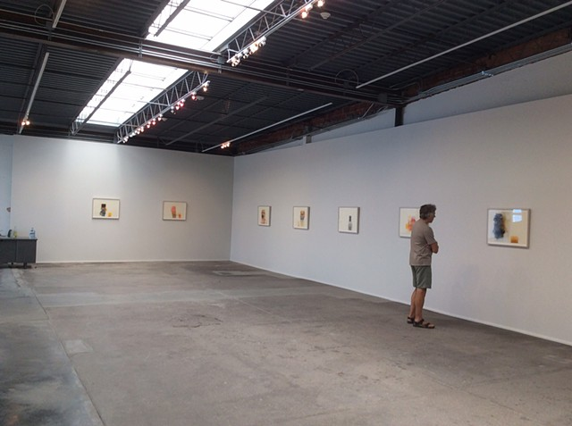 Marfa Contemporary, 'Framing the Unframable', Wall drawing and Works on paper, Marfa, TX