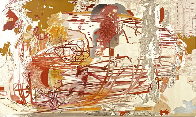 painting, contemporary abstract painting,