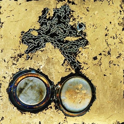 photo, photograph, photography, erasure, photographic, scanned image, wax, gold leaf