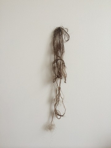 hair, mixed media, video, stills, his, mine, collected, saliva