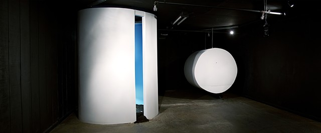 Installation, Art, Sculpture, Rotunda, clay, Vat, Video Projection