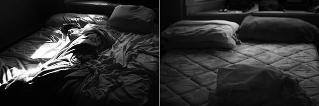 photograph, beds, bed, digital photo, color photo, louise, louise orourke