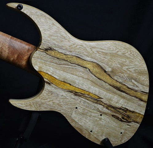 "The ""Fiddleback Tree"" Mahogany 8-String"