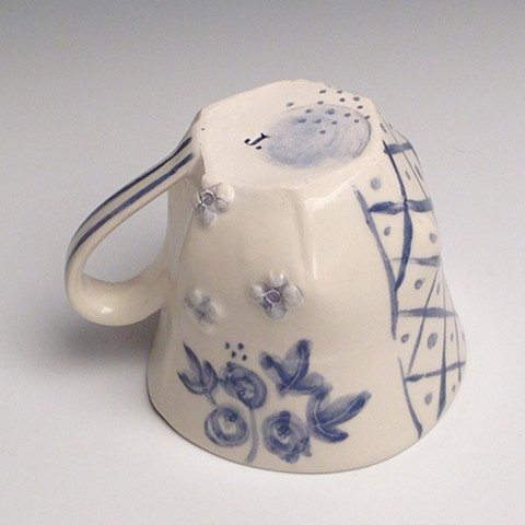 Forget Me Not Cup - Detail