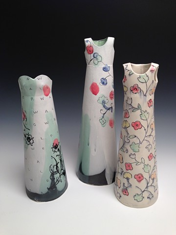 Wallflower Vases