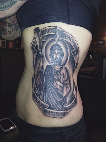 St. Jude Rib Tattoo
