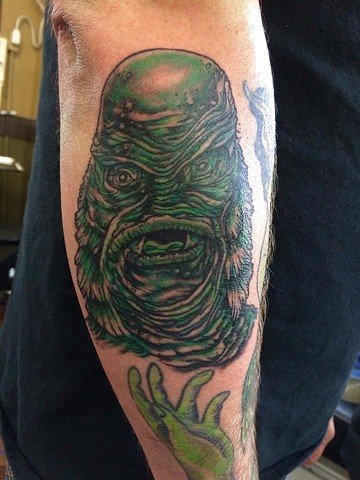 Creature of the Black Lagoon Tattoo