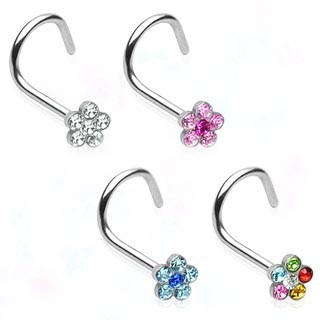 Flower Nostril Screw