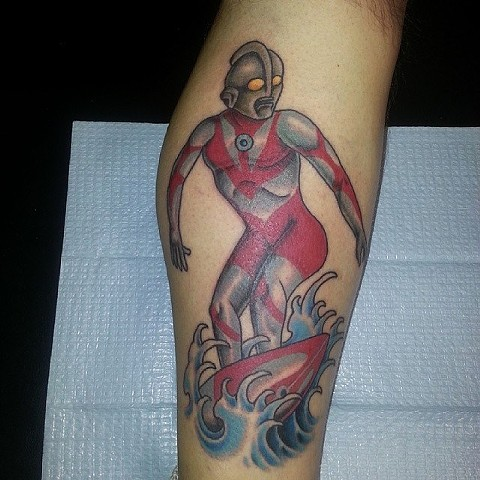 Ultraman Tattoo