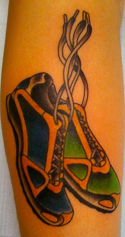 Shoes Traditional Tattoo