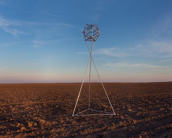 Micrometeorite Collector, Corn Field