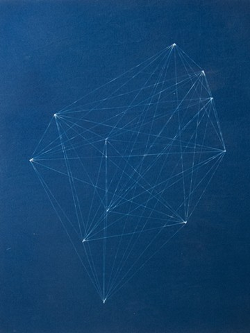 Cyanotype on Linen