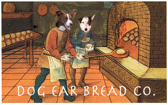 Logo design for Dog Ear Bread Co