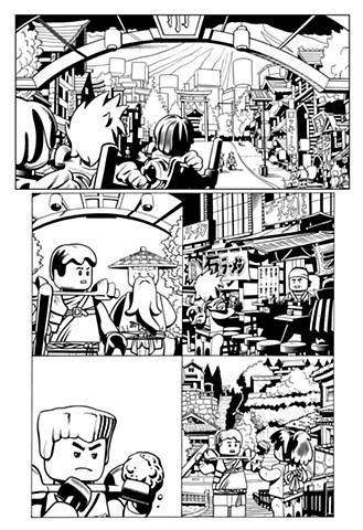 Ninjago book 6 page 15