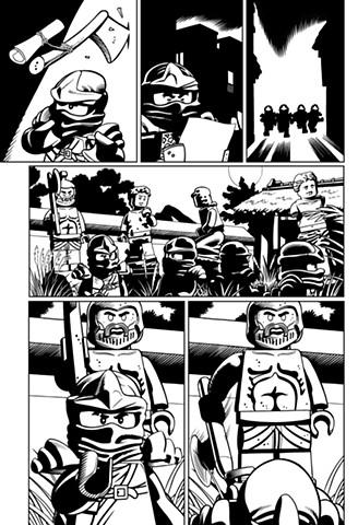 Ninjago book 6 page 29