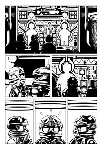 Ninjago Book 9 page 42