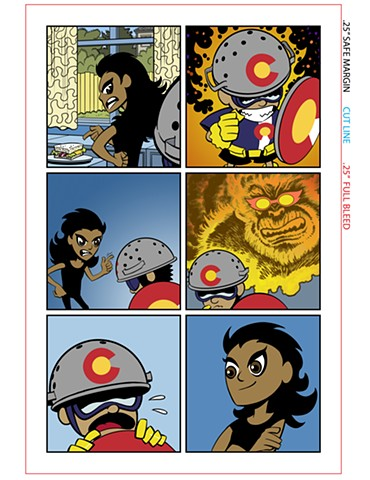 Captain Colorado Denver Comic Con