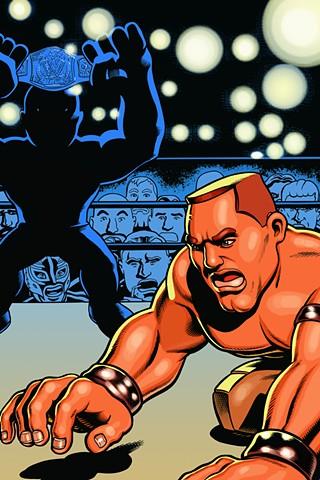 WWE Slam City cover John Cena