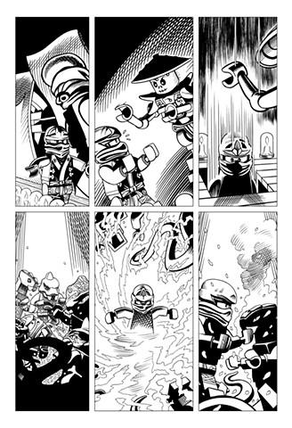 Ninjago Book 9 page 20