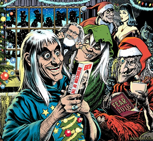 EC Tales from the Crypt Crypt-keeper Vault-keeper Old Witch Drusilla William Gaines Christmas