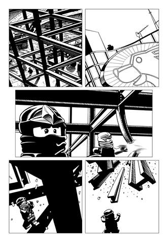 Ninjago Book 9 page 10
