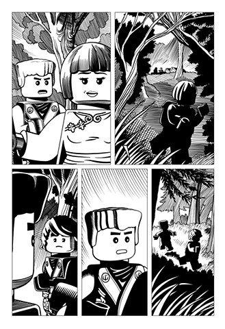 Ninjago Book 9 page 9