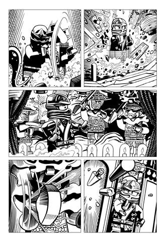 Ninjago Book 9 page 21