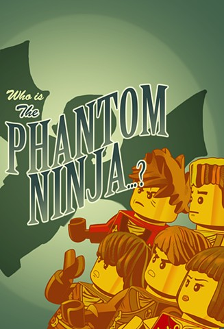 Ninjago book 10 The Phantom Ninja
