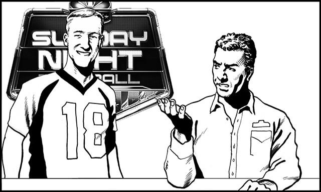 Papa John Peyton Manning commercial