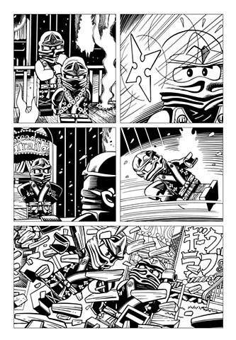 Ninjago Book 9 page 27