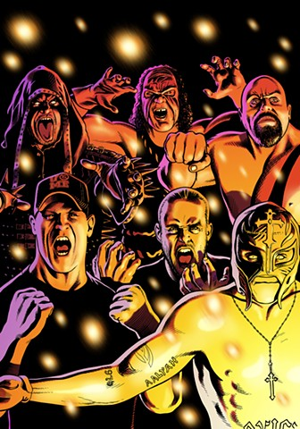 Cover for WWE Superstars #4