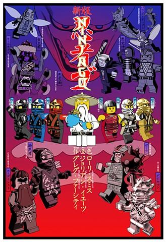 San Diego 2013 Poster Ninjago