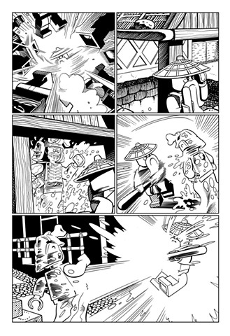 Ninjago Comic Sensei Wu
