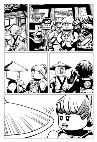 Ninjago book 10 page 15