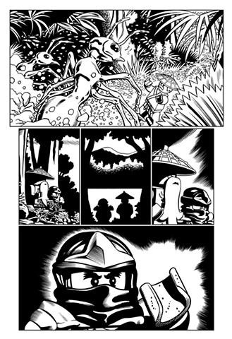 Ninjago book 6 page 10