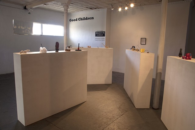 welcome to the social artwork, good children gallery, art, sculpture, found objects, good children gallery, jenna knoblach, prospect