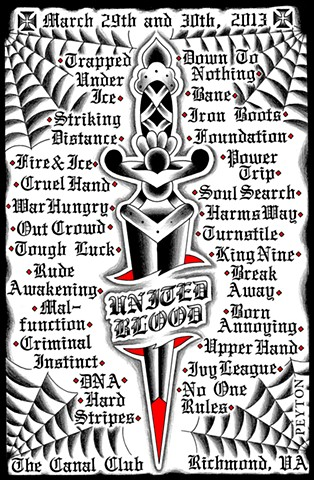 United Blood hardcore punk