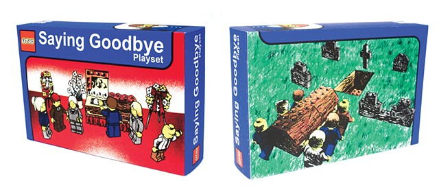 Saying Goodbye Playset