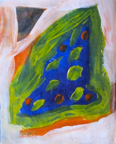 Untitled, Green Dots